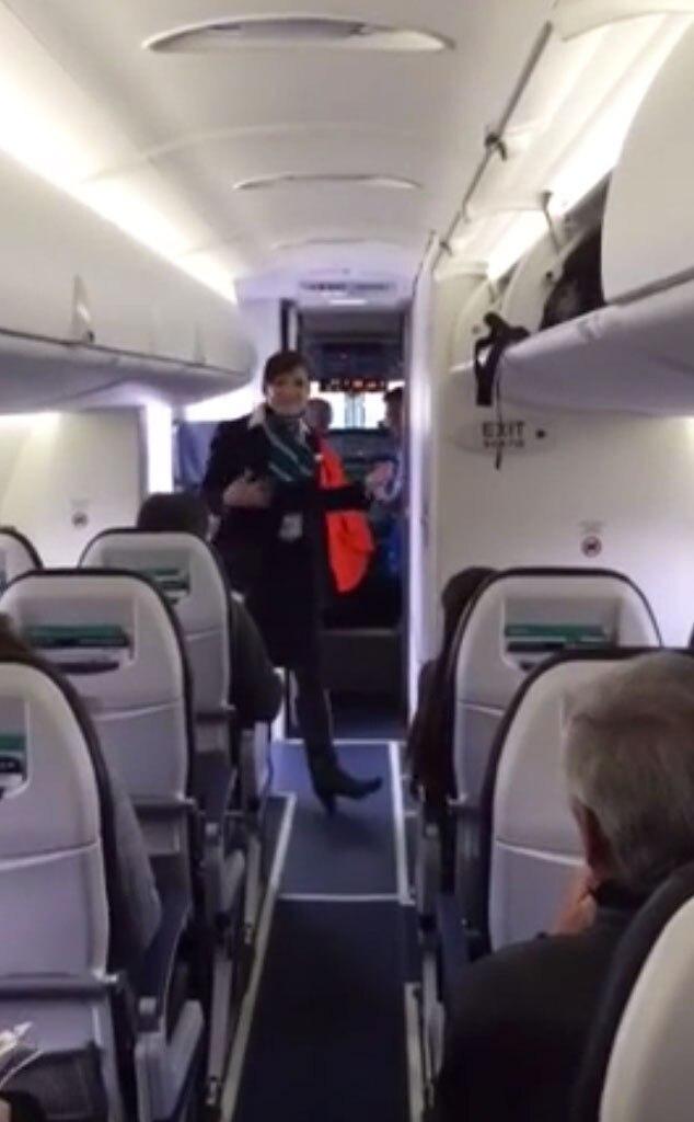Funky Flight Attendant, YouTube