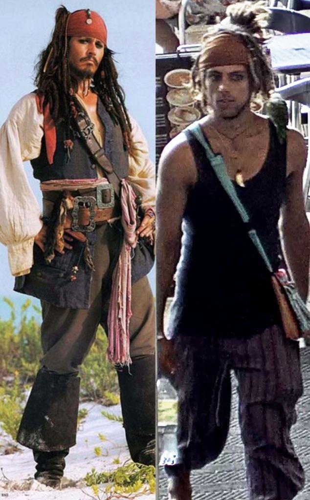 Johnny Depp, Jack Sparrow, Look-alike