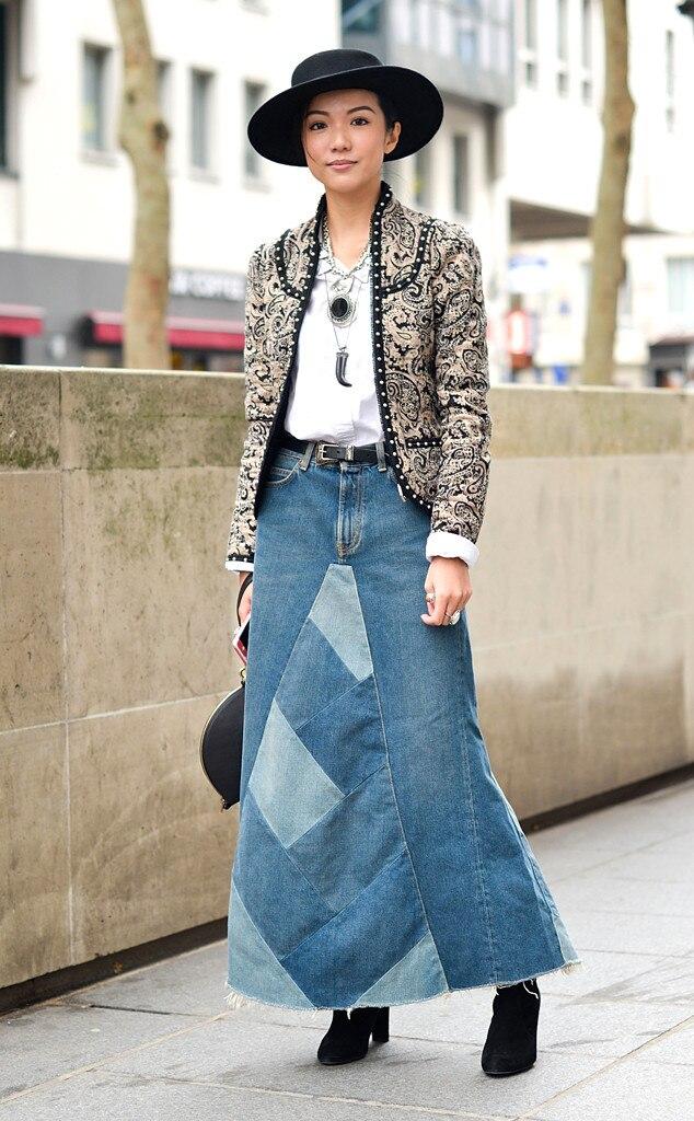 Yoyo Cao From Street Style Paris Fashion Week E News