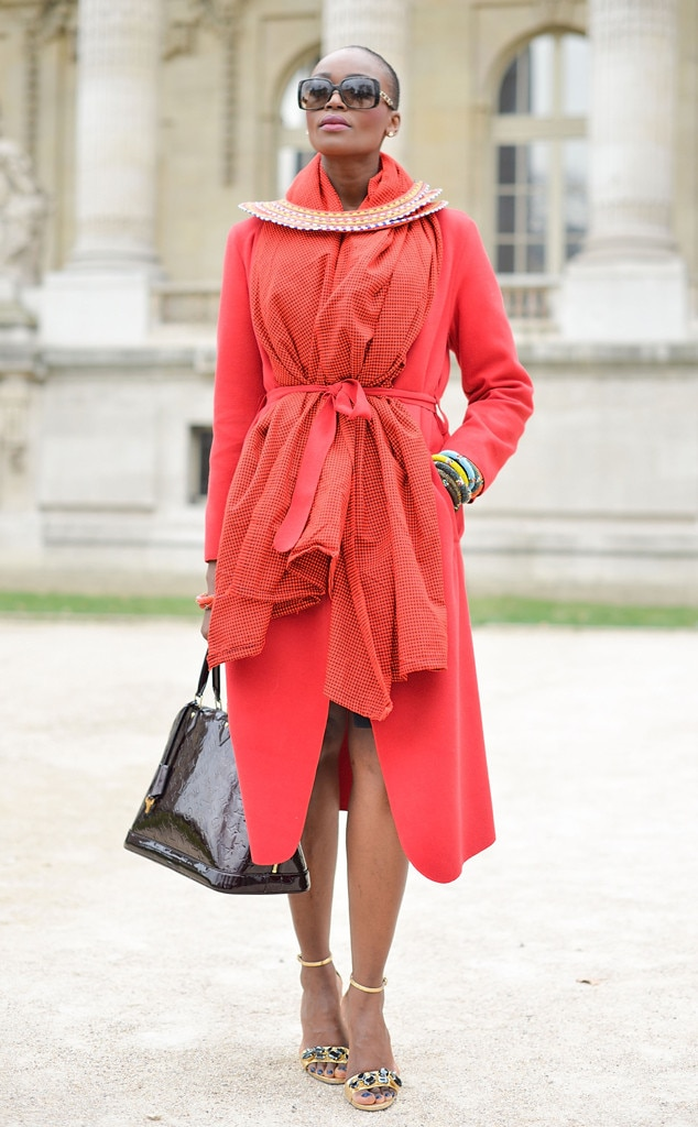 A Guest From Street Style Paris Fashion Week E News Uk