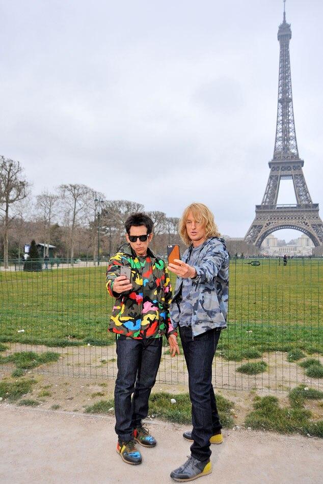 Zoolander 2, Ben Stiller, Owen Wilson, Paris