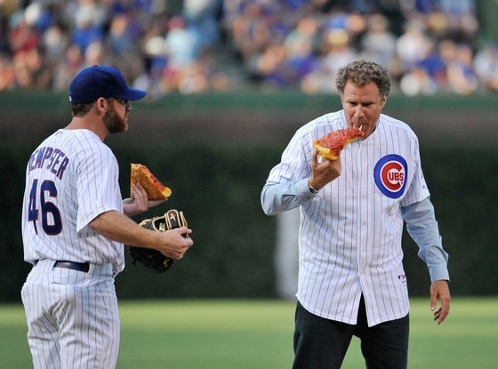 Ryan Dempster, Will Ferrell