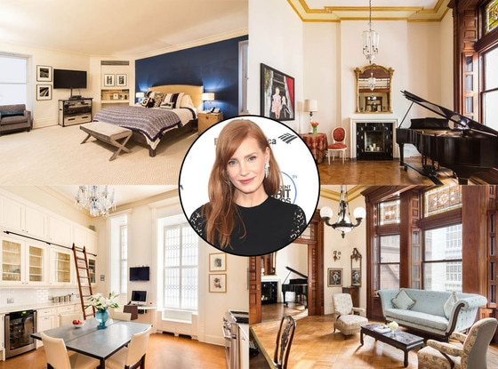 Jessica Chastain, New Condo