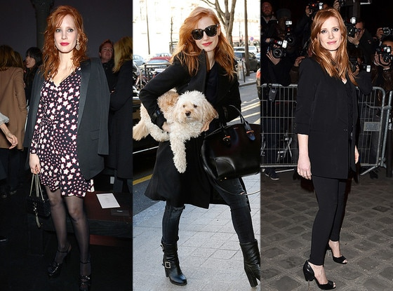 Jessica Chastain, Paris Fashion Week