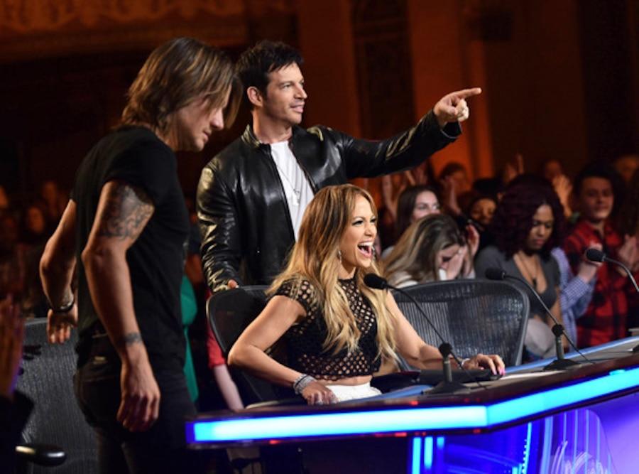 Keith Urban, Jennifer Lopez, Harry Connick Jr., American Idol