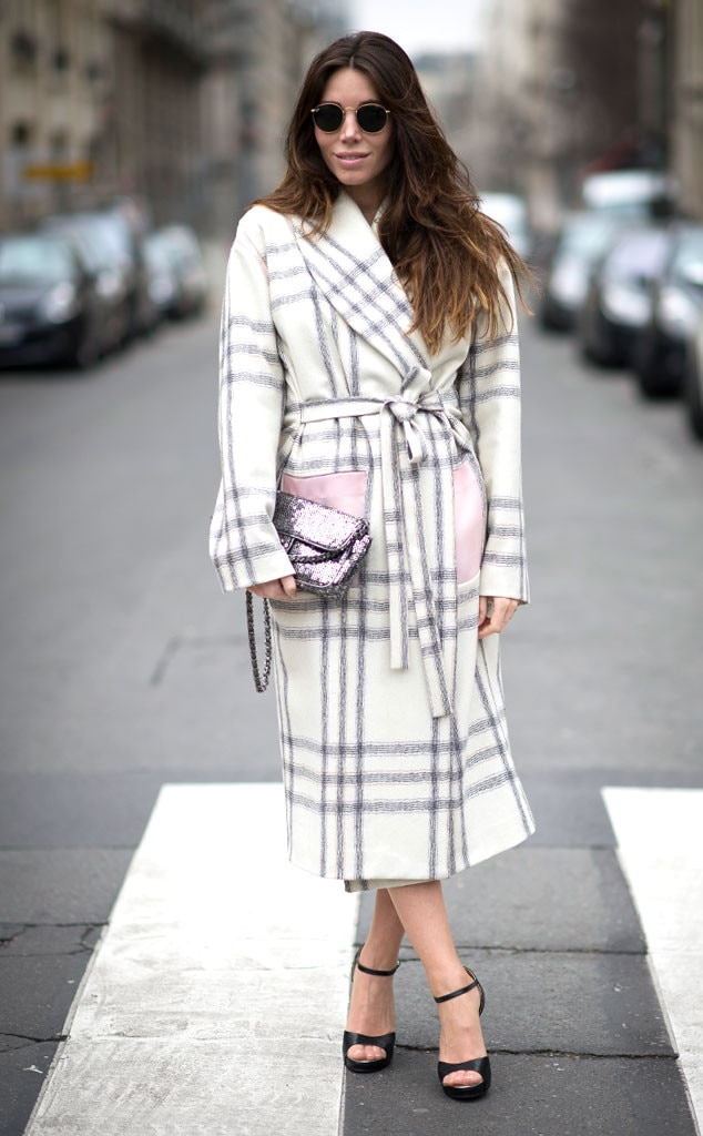 Natacha Steven From Street Style Paris Fashion Week E News