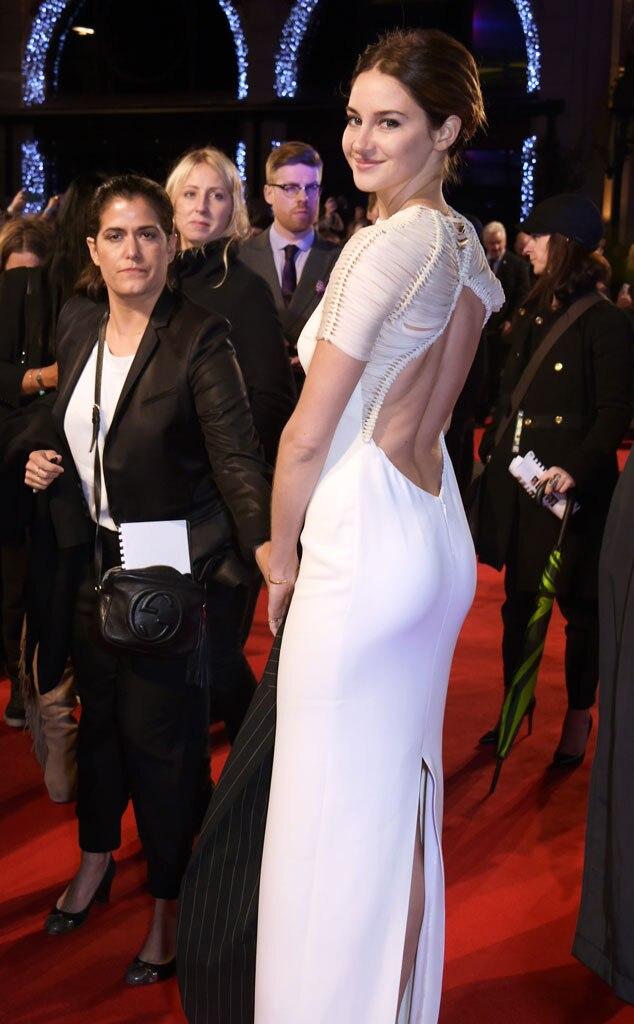 Shailene Woodley, Insurgent Premiere