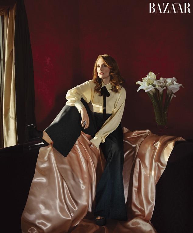 Julianne Moore, Harper's BAZAAR