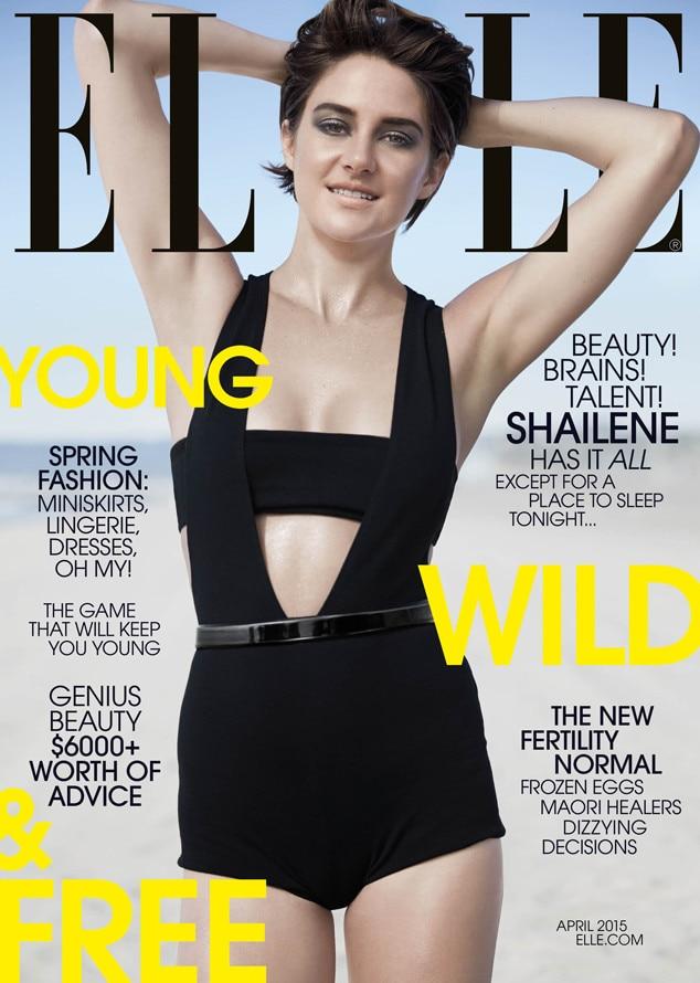 Shailene Woodley, Elle