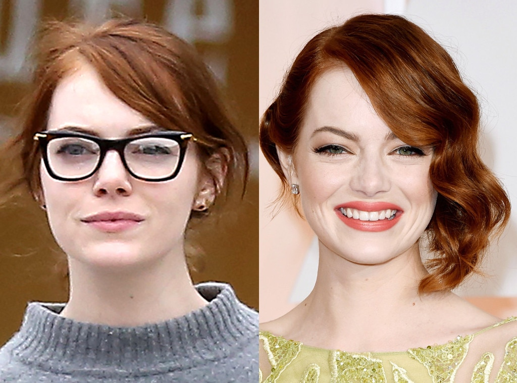 Emma Stone from Stars Without Makeup : E! News