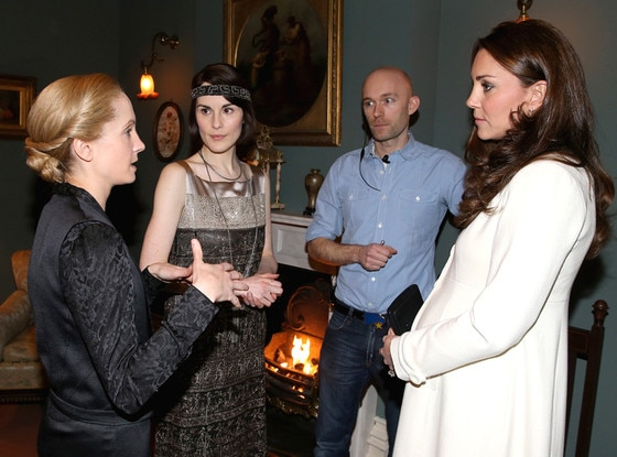 Kate Middleton, Downton Abbey