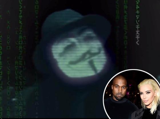 Anonymous, Kim Kardashian, Kanye West