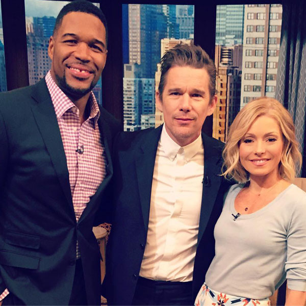 Ethan Hawke, Live With Kelly and Michael