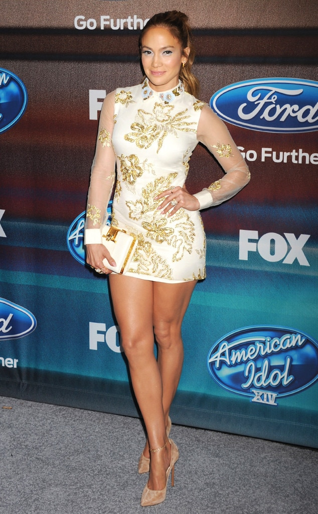 Legs for Days from Jennifer Lopez's American Idol Looks | E! News