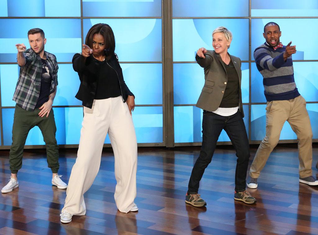 Michelle Obama, Ellen DeGeneres