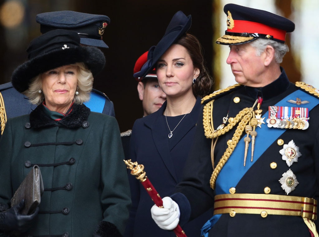 Camilla, Duchess of Cornwall, Catherine, Duchess of Cambridge, Kate Middleton, Prince Charles, Prince of Wales