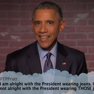 Barack Obama, Mean Tweets