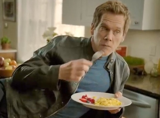 Kevin Bacon, Wake up to Eggs Video