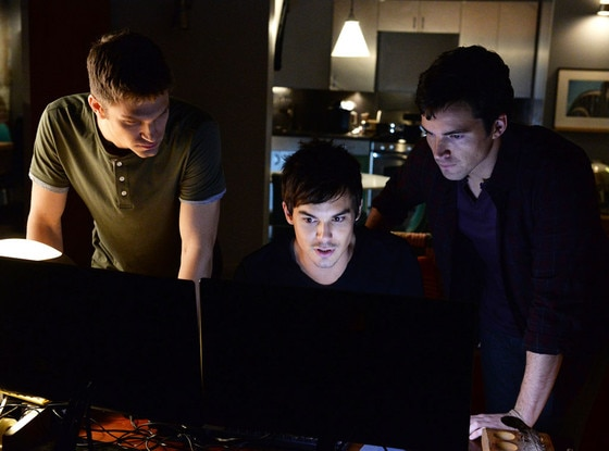 Keegan Allen, Tyler Blackburn, Ian Harding, Pretty Little Liars