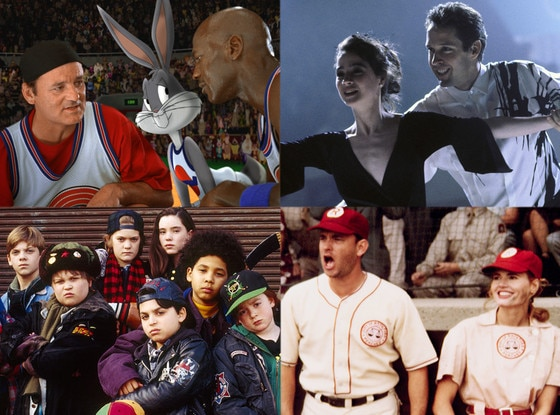 90's Sports Movies, The Cutting Edge Space Jam A League of Their Own The Mighty Ducks