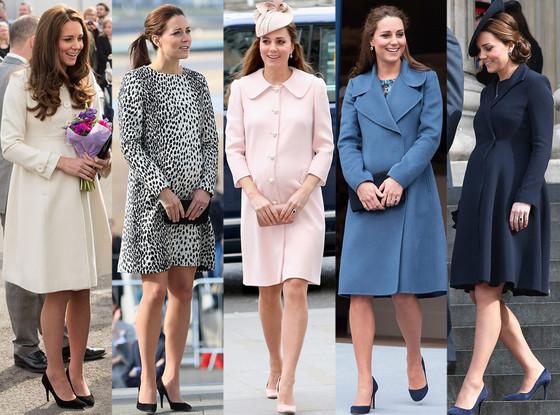 Kate Middleton, Baby Bump Fashion
