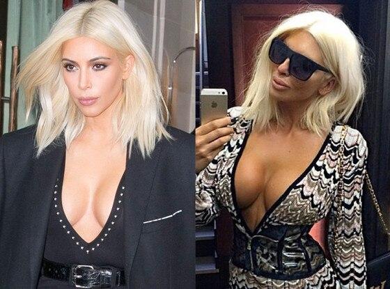 Kim Kardashian, Jelena Karleusha