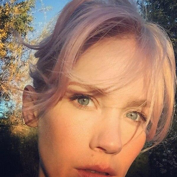 January Jones, Hair, Instagram