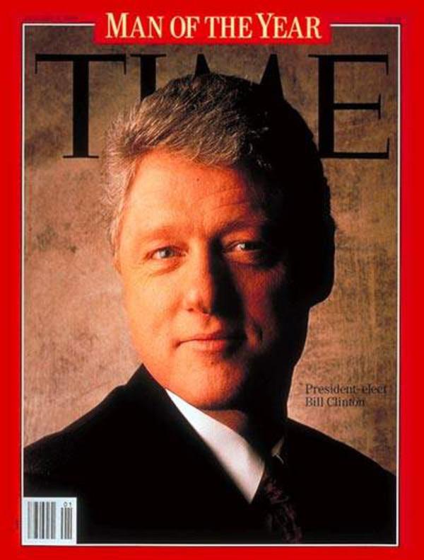 Bill Clinton, Time Cover