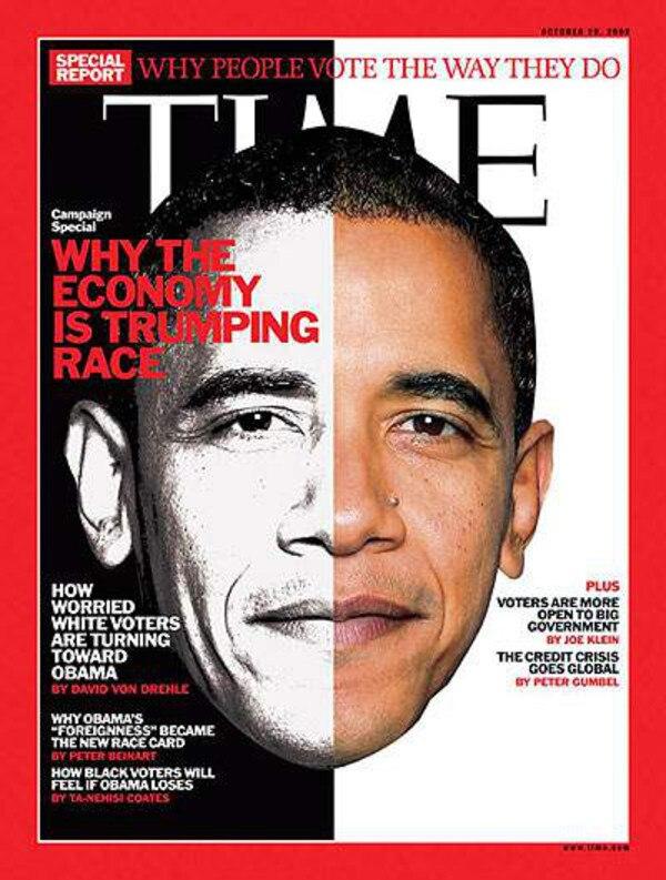 Barack Obama, Time Cover