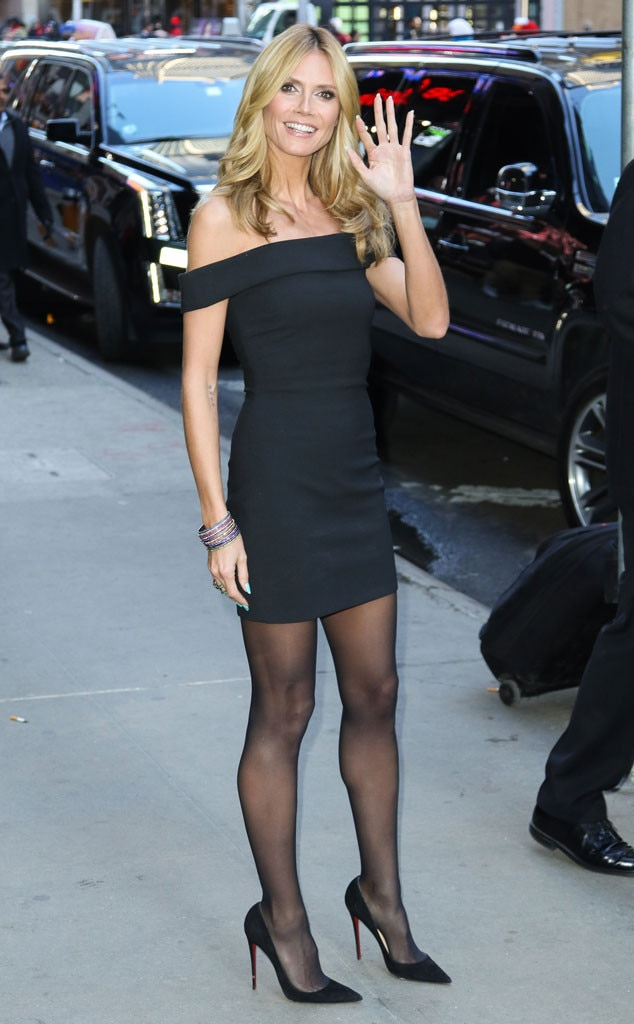 Heidi Klum From The Big Picture Today S Hot Photos E News