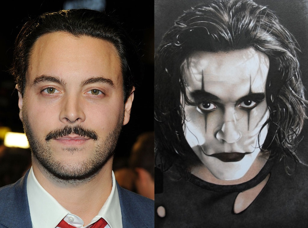 Jack Huston, Brandon Lee, The Crow