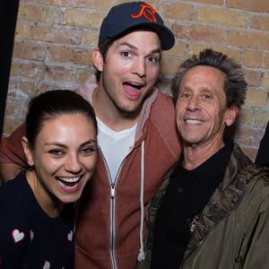 Mila Kunis, Ashton Kutcher, Brian Grazer