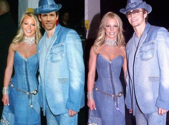 Blake Lively, Ryan Reynolds, Britney Spears, Justin Timberlake, Twitter