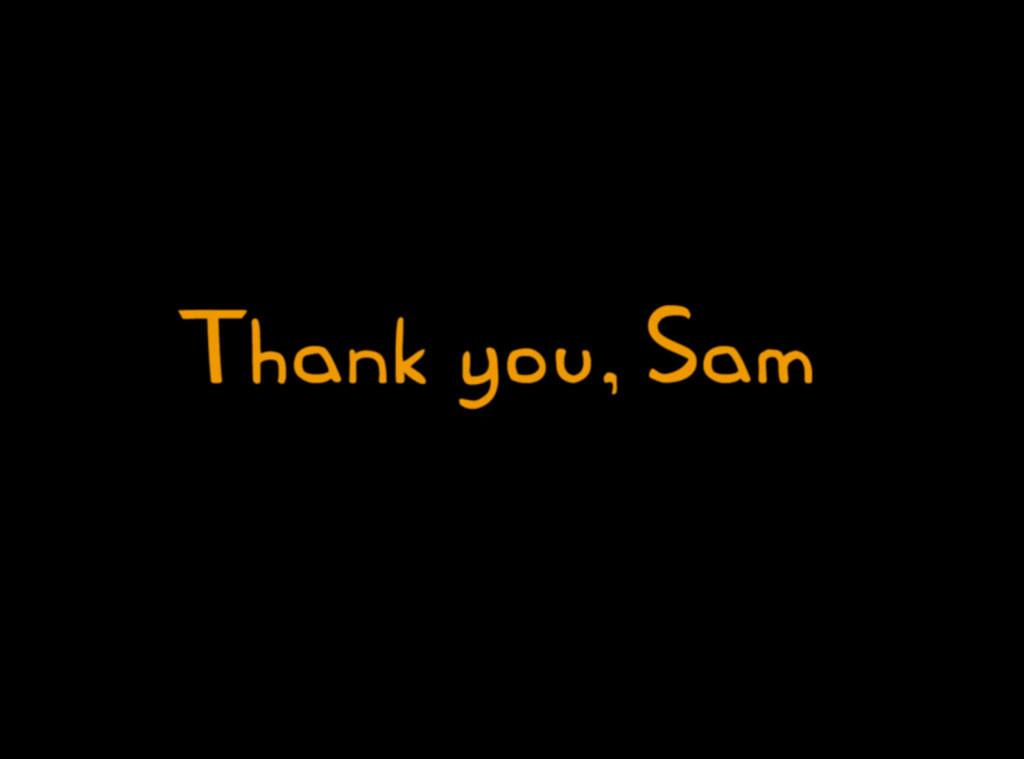 Simpsons Tribute to Sam Simon