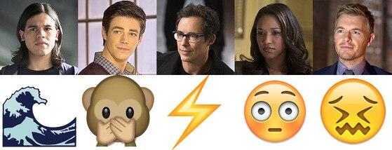 The Flash, Emojis
