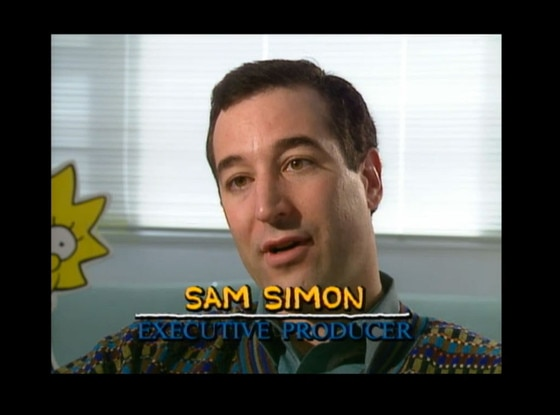 Simpsons Tribute to Sam Simon