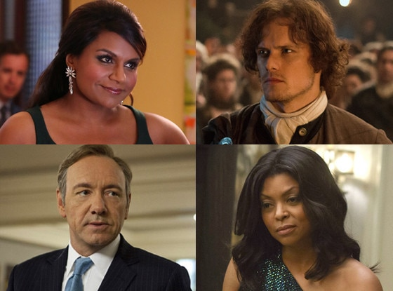 The Mindy Project, Outlander, House of Cards, Empire