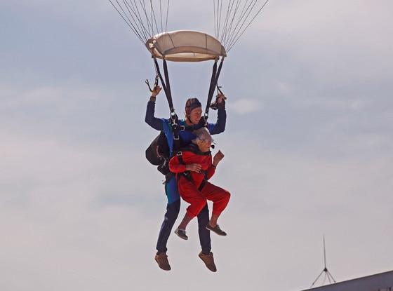 Georgina Harwood, Skydiving
