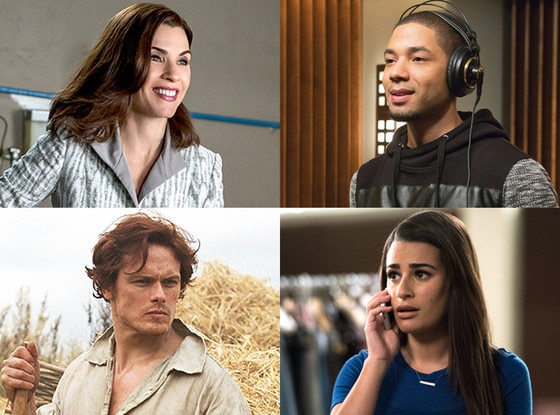 Julianna Margulies, Sam Heughan, Jussie Smollett, Lea Michele