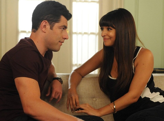 Hannah Simone, Max Greenfield, New Girl