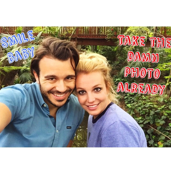 Britney Spears, Charlie Ebersol, Instagram