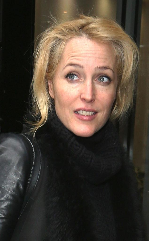 Gillian Anderson, No Makeup