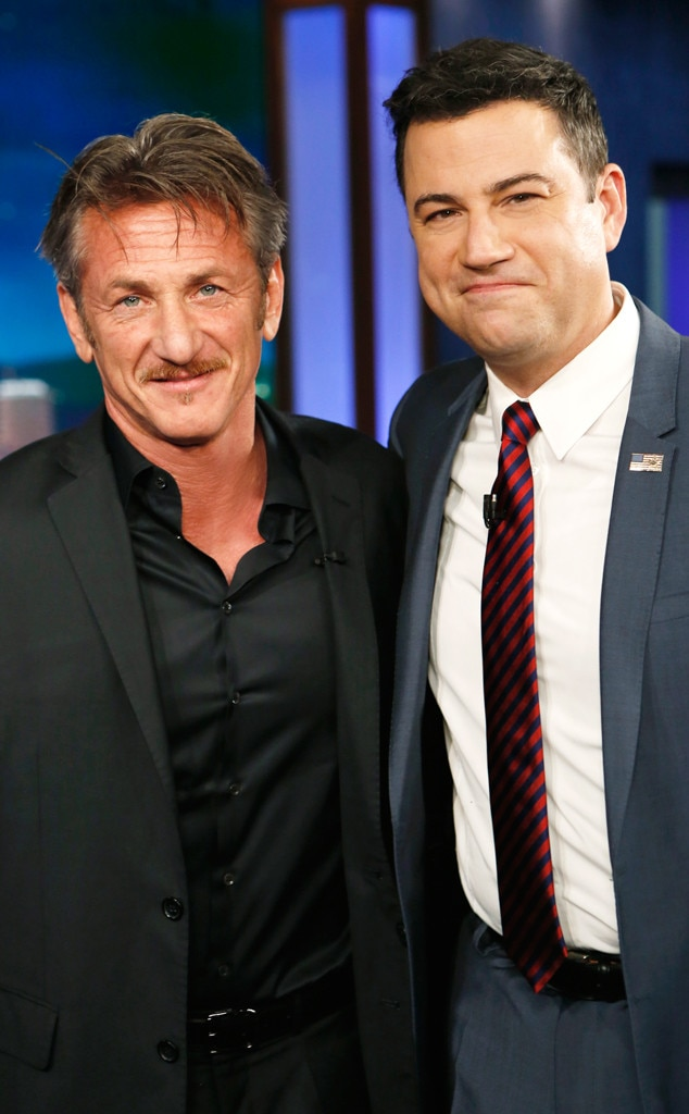 Sean Penn, Jimmy Kimmel Live