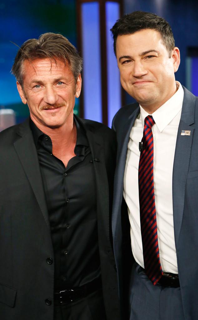 Sean Penn, Jimmy Kimmel Live