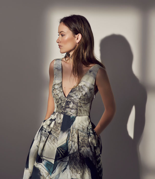 Green Goddess Olivia Wilde Stuns in Campaign for H&M's ...