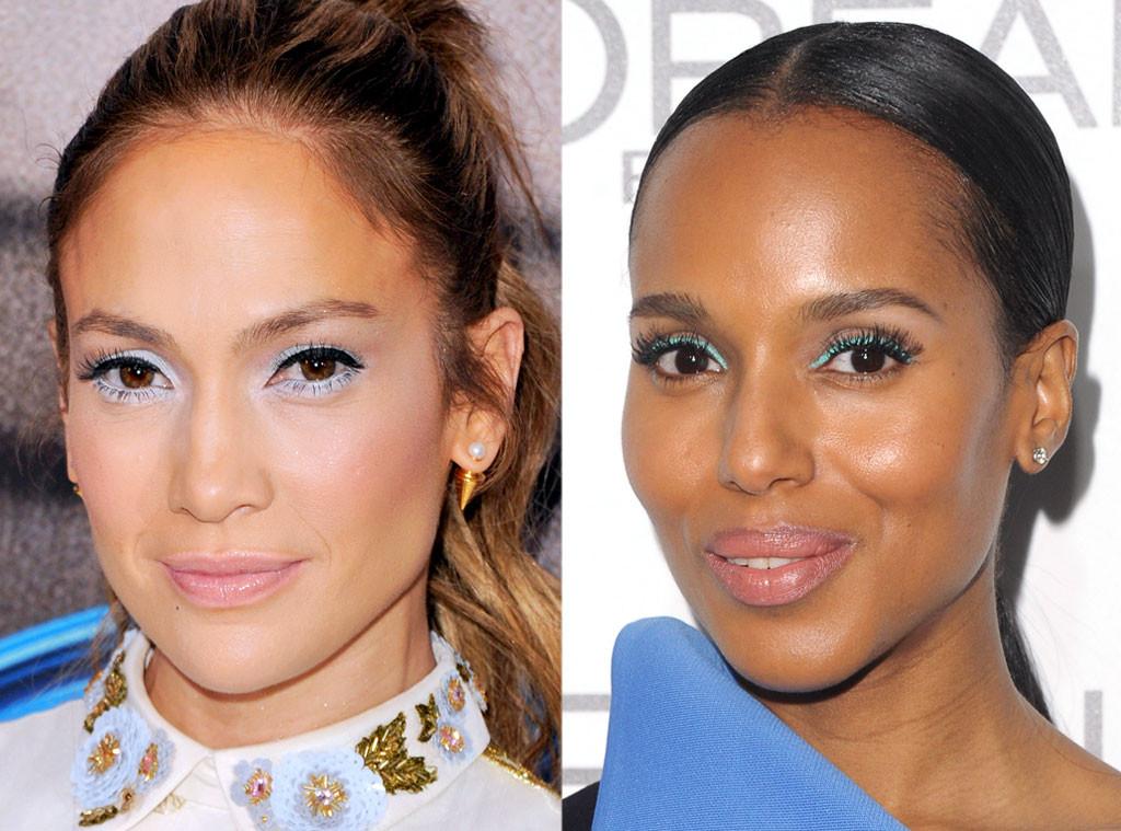 Bad-Ass Beauty Trends, Blue Eyeliner