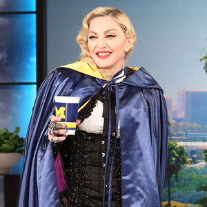 Madonna, Ellen DeGeneres