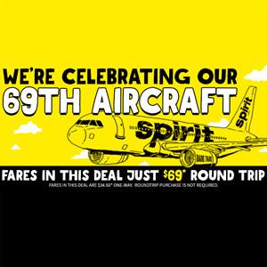 Spirit Airlines 69