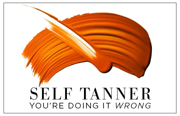 ESC, Self Tanner Youre Doing it Wrong Top Image