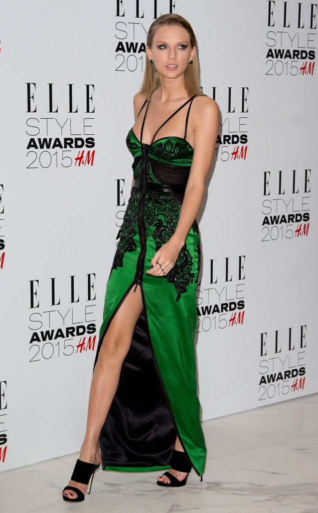 Taylor Swift, Celebs In Green